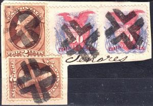 U.S. 121 PAIR On Piece (101718)