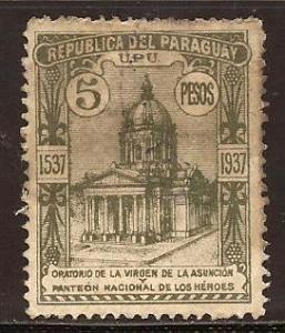 Paraguay  #  346  used