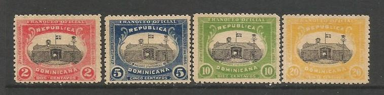 Dominican Republic O1-O4 MNG C1003