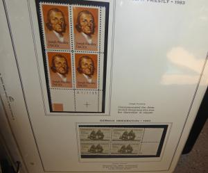 plate block collection #'s 1785-2288