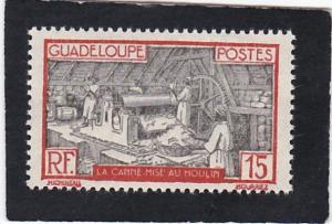 Guadeloupe,  #  102   unused