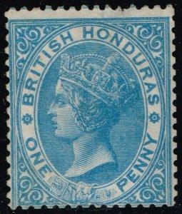 British Honduras #1 Queen Victoria; Unused (2Stars)