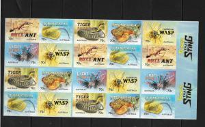 O) 2014 AUSTRALIA, BULL ANT-STINGRAY TIGER-SNAKE-STONEFISH-WASP. THINGS THAT STI