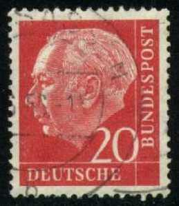 Germany #710 Theodor Heuss, used (0.20)