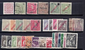 ANGOLA 1898-1957 Selection of 82 different scv $54.90 Less 70%=$16.50.