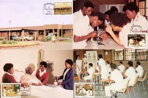 Venda - 1988 Nurse's Training College Maxi Card Set SG 175-178