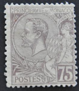 DYNAMITE Stamps: Monaco Scott #24 – UNUSED