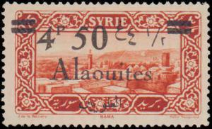 1926 Alaouites #43, Incomplete Set, Hinged