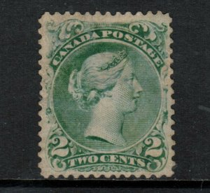 Canada #24iv Mint Fine Regummed With Small Thin