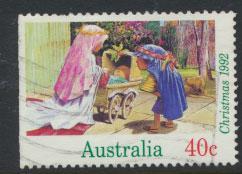 Australia SG 1383  Used  x booklet left margin imperf - Christmas