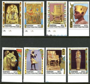 Central African Republic 349-36 MNH mint Egypt Treasures Antiquities      (In...