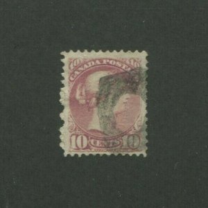 1877 Canada Postage Stamp #40a Used F/VF Postal Cancel