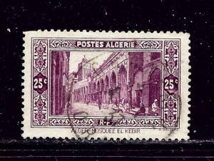 Algeria 86 Used 1936 issue short perfs
