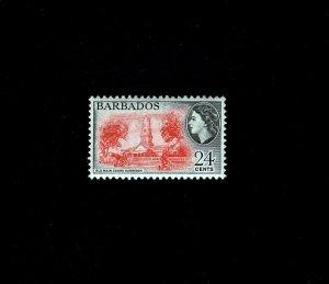 BARBADOS - 1956 - QE II - OLD MAIN GUARD GARRISON - # 243 - MINT MNH SINGLE!
