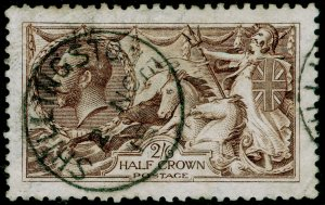 SG400, 2s 6d sepia-brown, FINE USED, CDS. Cat £150. WATERLOW.