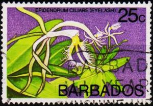 Barbados. 1974 25c S.G.518 Fine Used