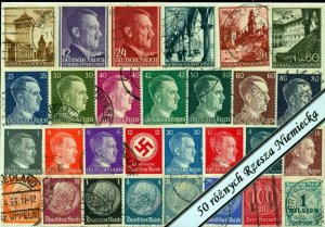 Poland Germany Reich Bohemia Early/Mid M&U (Apx 350 Stamps)NT 6340