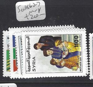 SYRIA  (P2509BB)   SG 1862-7        MNH
