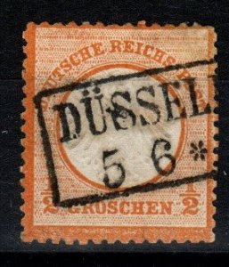 Germany #16  F-VF Used CV $9.00 (X289)