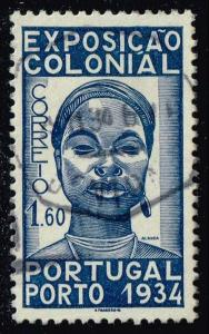 Portugal #560 Colonial Woman; Used (4.00)
