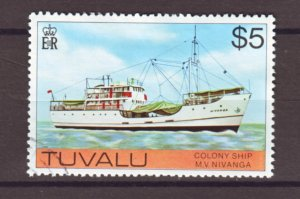 J22228 Jlstamps 1976 tuvalu hv of set used #37 ship