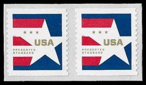 PCBstamps     US 5433 Coil Pair 20c(2x10c)Presorted Star, 2020, MNH, (3)