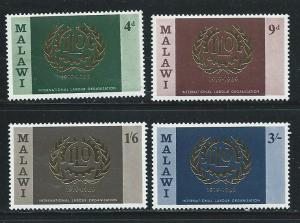 Malawi 110-3 1969 50th ILO set MNH