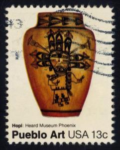 US #1708 Hopi Pot, used (0.25)