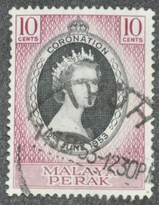 DYNAMITE Stamps: Malaya Perak Scott #126 – USED