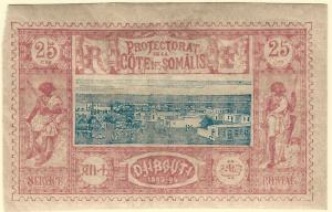 French Somali Coast(Scott #13 VF Mint hr...Buy before prices go up again!