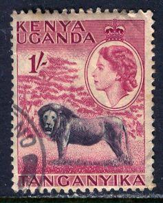 Kenya Uganda & Tanganyika; 1954: Sc. # 112: O/Used Single Stamp