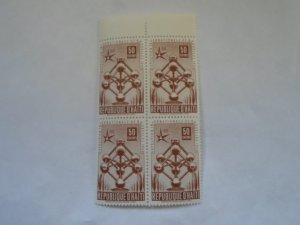HAITI STAMPS FINE CON. BLOCK OF 4 STAMPS MNH # 28