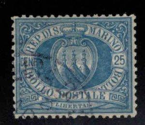 San Marino Scott 14 Used 1899 stamp