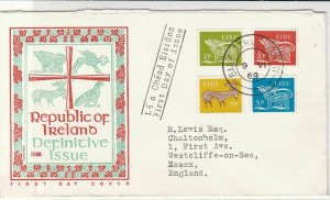 Ireland 1969 Def.Issue Republic of Ireland Illust. Animals Stamps Cover Rf 34784