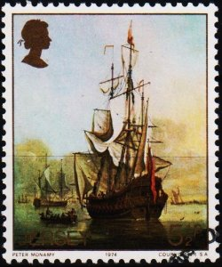 Jersey. 1974 5 1/2p S.G.116 Fine Used