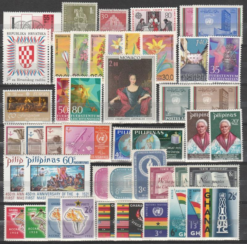Worldwide  Lot-  Mint Never Hinged  (A6578)