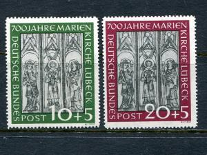 Germany #B316-17  Mint VF  lightly hinged - Lakeshore Philatelics