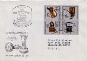 Germany D.D.R., Telephone and Telegraph