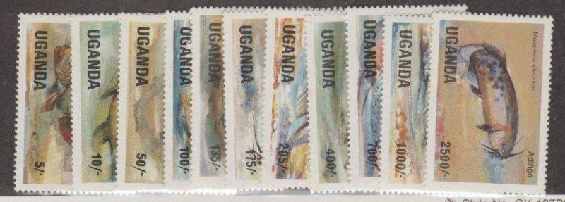 Uganda Scott #432-442 Stamps - Mint NH Set