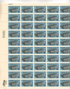 US C74 - 10¢ Curtiss Jenny Unused