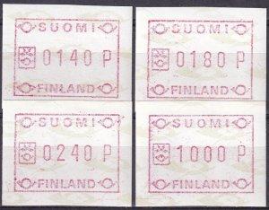 Finland 1988 Framas F-VF Unused  (S10361)