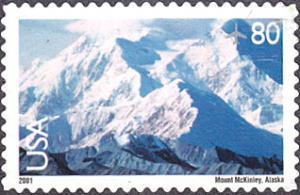 United States # C137 used ~ 80¢ Mt. McKinley