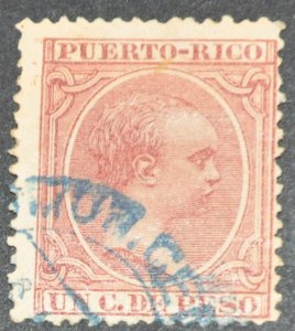 DYNAMITE Stamps: Puerto Rico Scott #97 – USED
