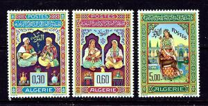 Algeria 341-43 MNH 1965 Musicians