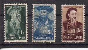 Portuguese India 469-471 used