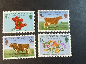 GUERNSEY # 33-36-MINT NEVER/HINGED--COMPLETE SET--1970
