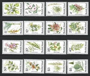 Norfolk Island    MNH  sc 323 - 338