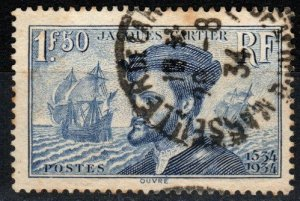 France #297 F-VF Used  CV $4.25 (X1955)