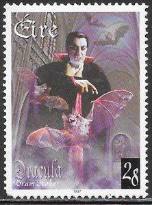 Ireland 1086 Used - Bram Stoker's Dracula - Transformed into Bat