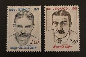 Monaco 1980 #1305-06, MNH, CV $2.50